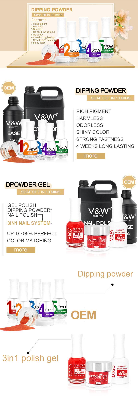 dip powder nail polish matching quick easy nail VW