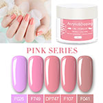VW color acrylic nail powder easy remove for wedding-5