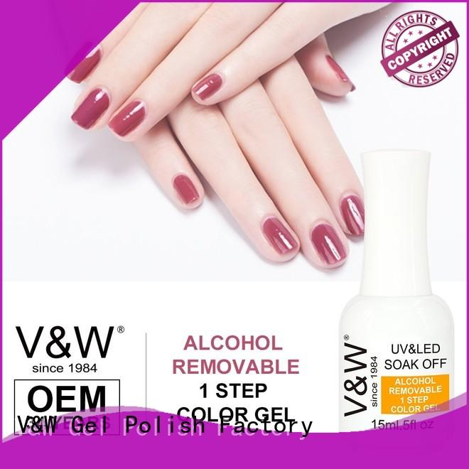 VW glitter cheap uv gel polish mood changing for daily life