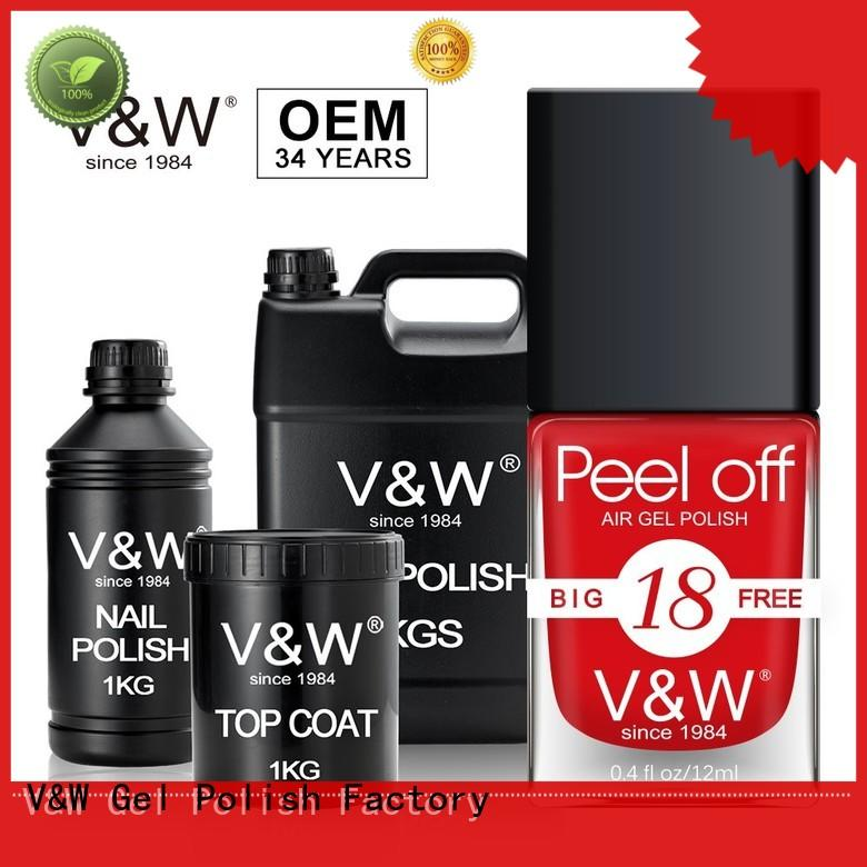 VW red gel nail polish wholesale for wedding