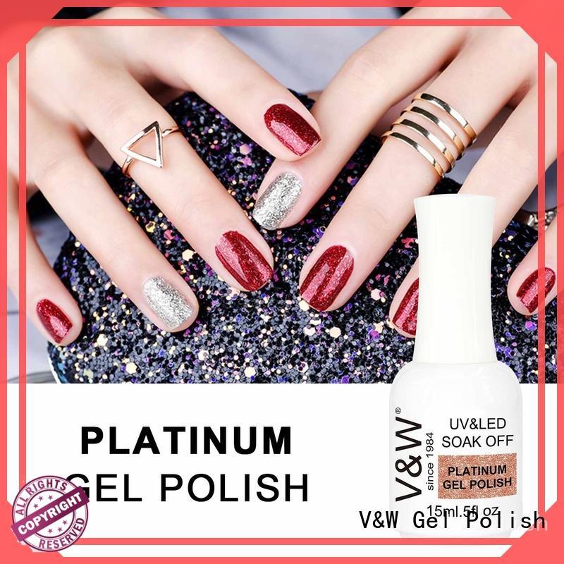 VW long lasting private label nail polish bottles for work