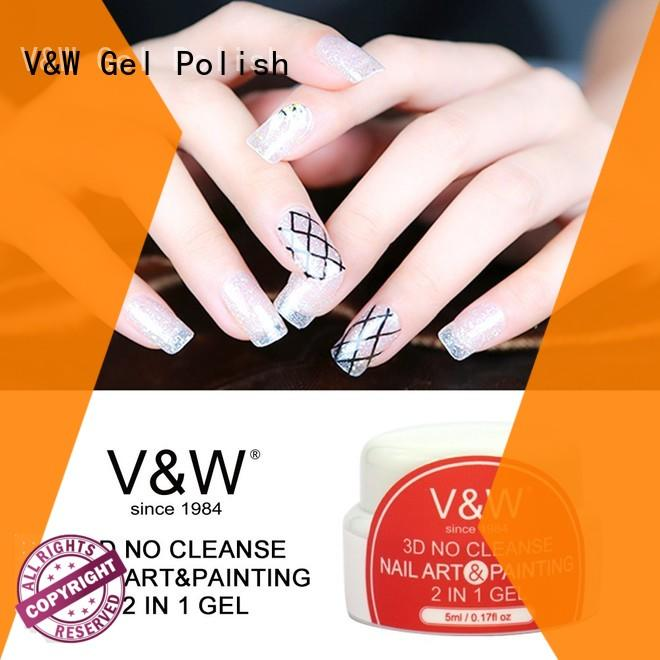 VW glitters Gel Polish Wholesale mood changing for wedding