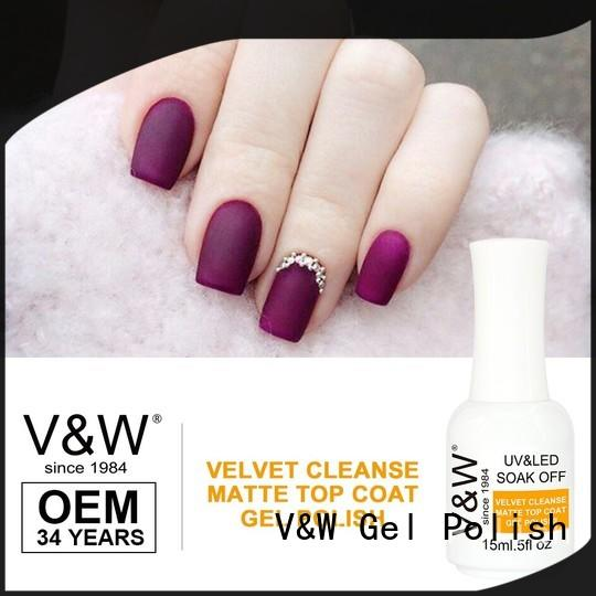 VW diamonds uv nail polish set for office