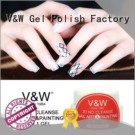 VW metallic gel polish without uv for sale for office