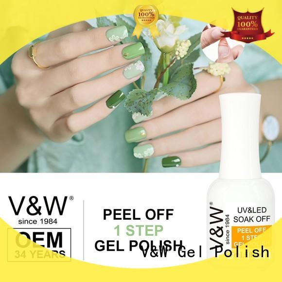VW leduv uv gel colours for nails manufacturer for evening party