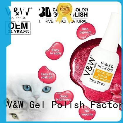 VW long lasting uv gel nails manufacturer for home