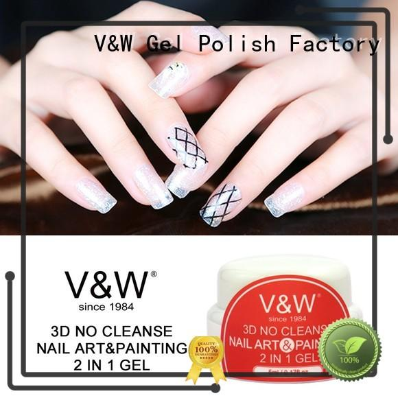 3D No Cleanse Nail Art & Painting 2 in 1 Gel