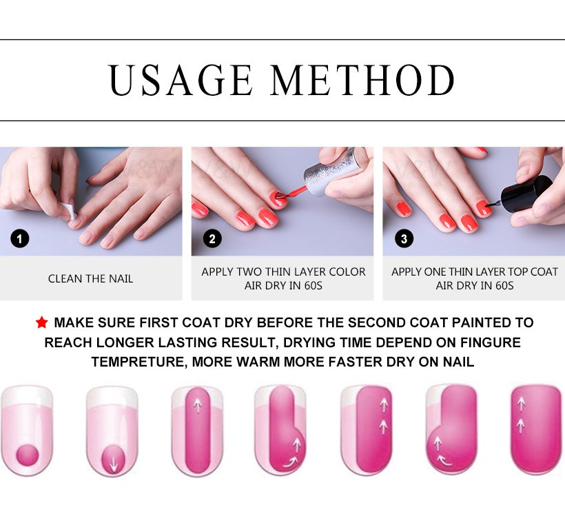 non professional nail polish wholesale for wedding VW-6