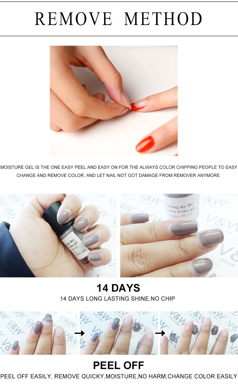 VW professional gel polish nail art wholesale for evening party-7