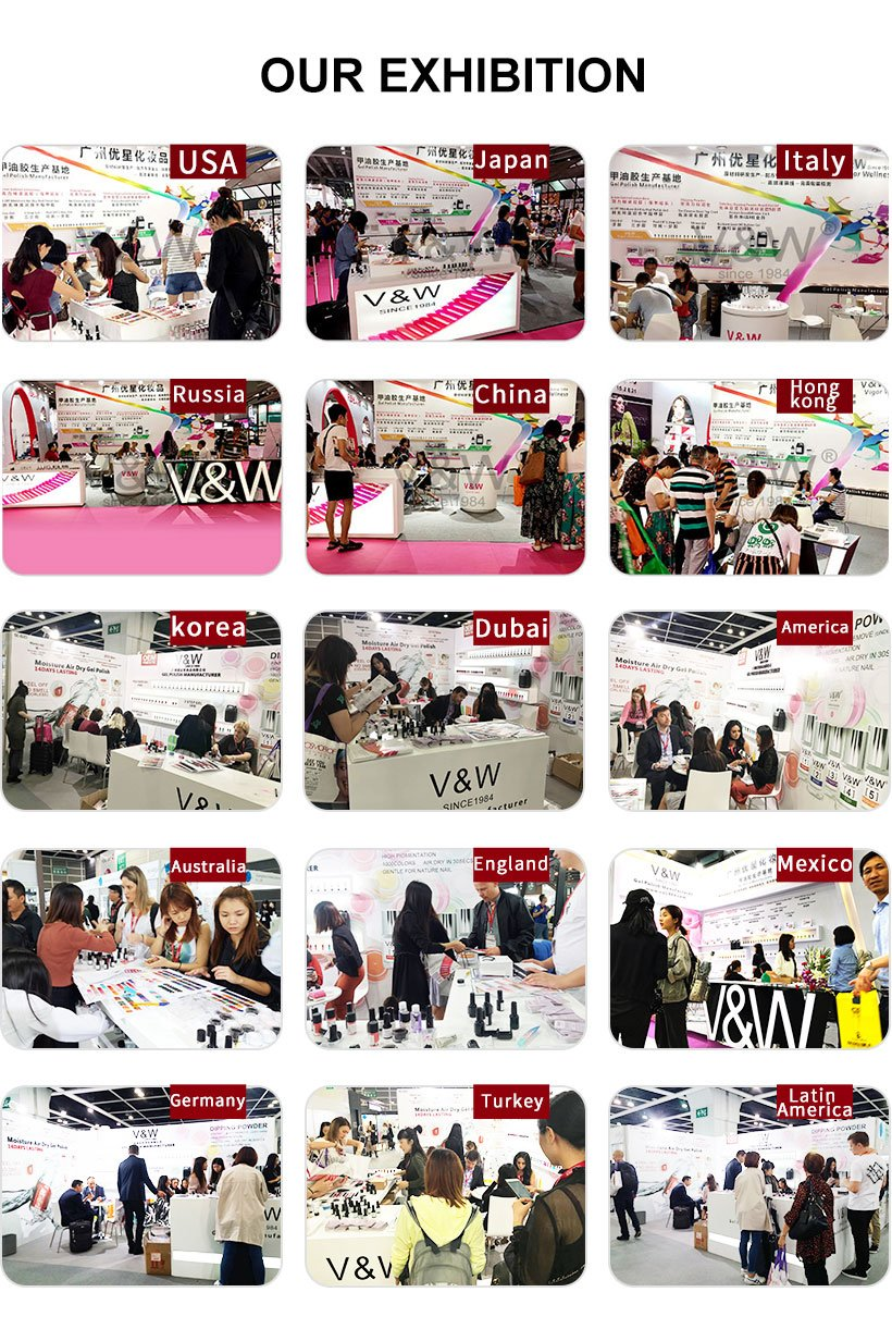 VW professional gel polish nail art wholesale for evening party-19