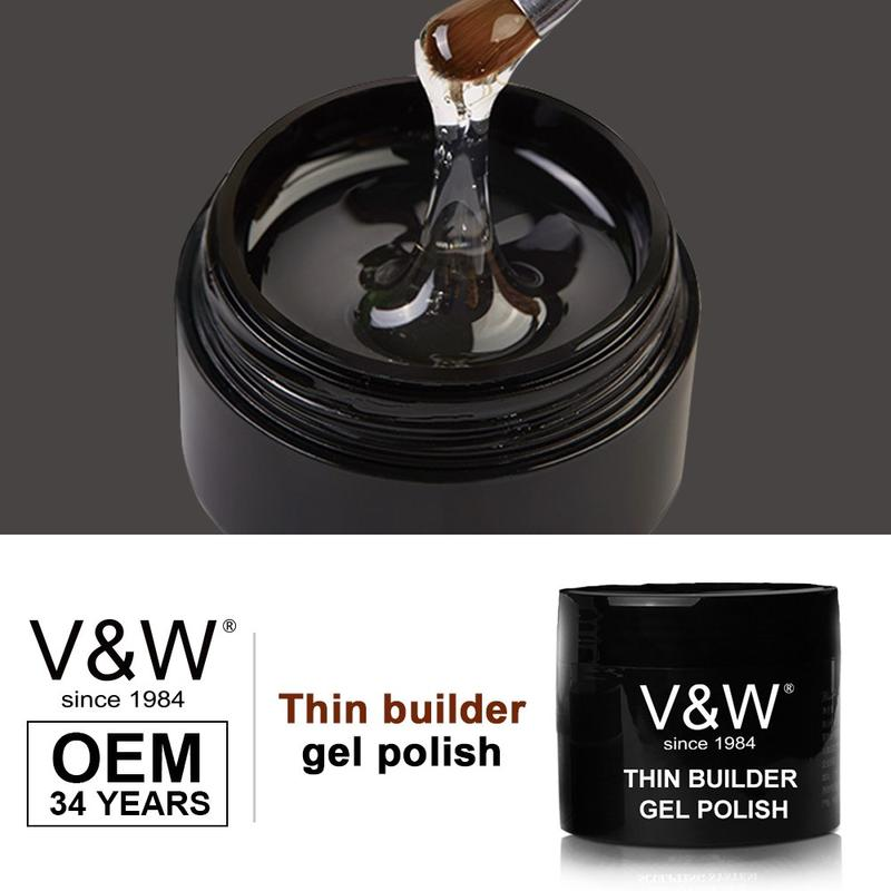 UV Thin Builder Gel Polish For Nail Extensions