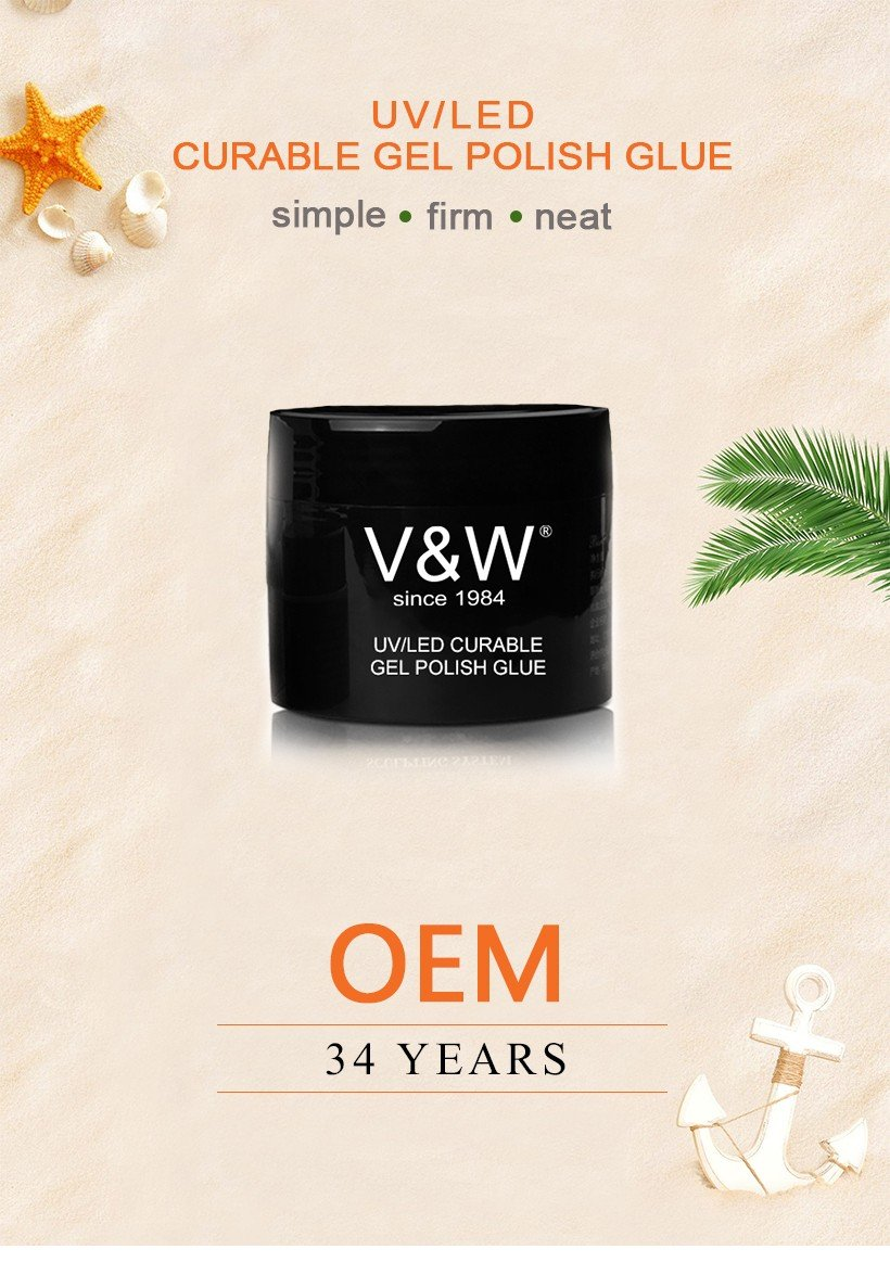 VW-Find Uvled Curable Gel Polish Glue for Nail Accessory Gel Polish Wholesale-1