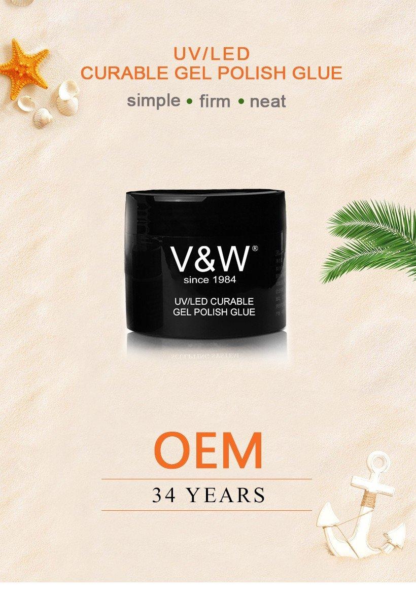 VW long lasting wholesale uv gel nail polish varnish for work-2