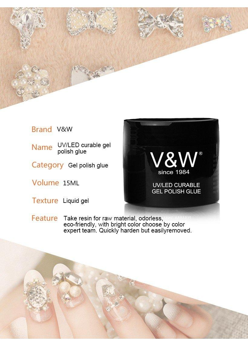 VW glitter clear nail polish bulk varnish for party