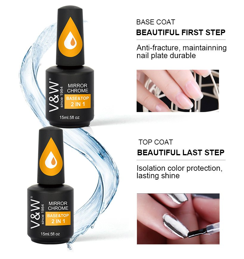 VW peacock best natural nail polish for wedding-4