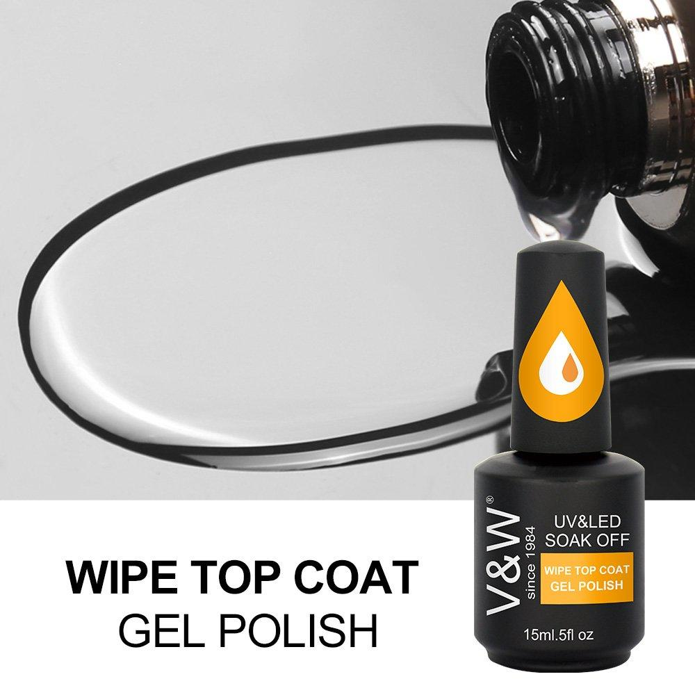 Wipe Top Coat Gel Polish