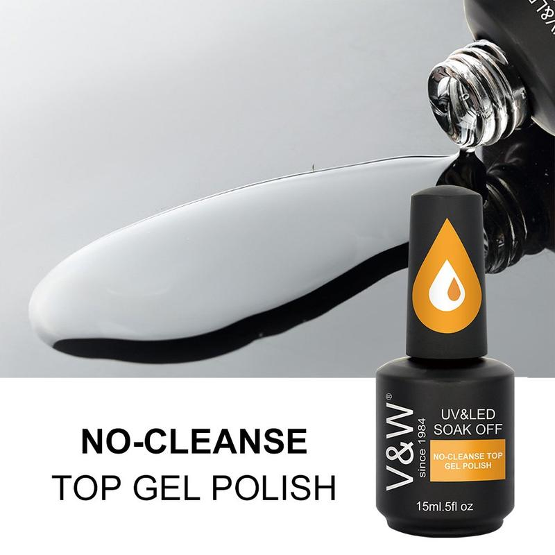 No Cleanse Top Coat Gel Polish