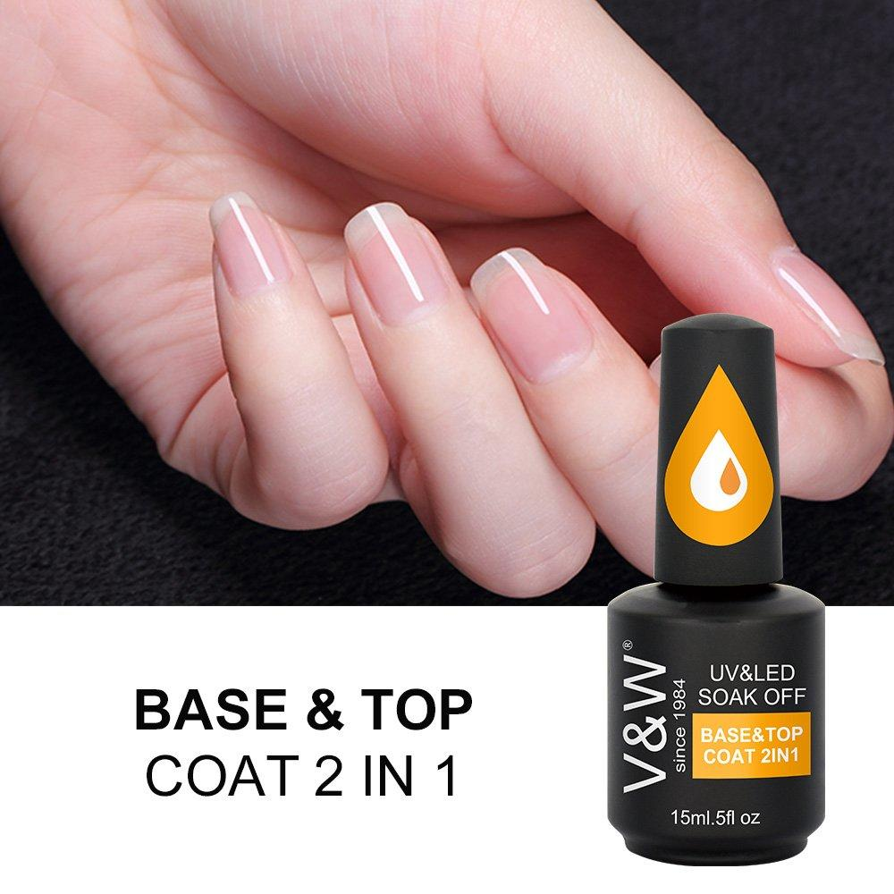 Base & Top Coat 2in1
