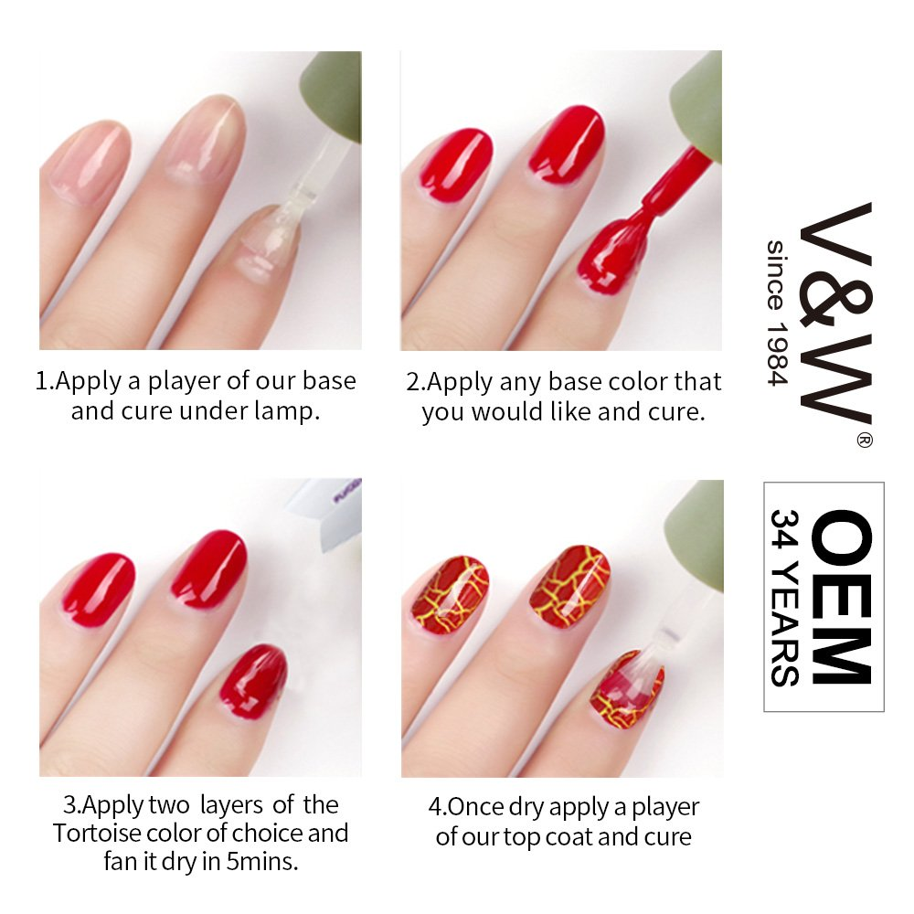VW-gel nail polish at home without uv light | UVLED Gel Polish | VW