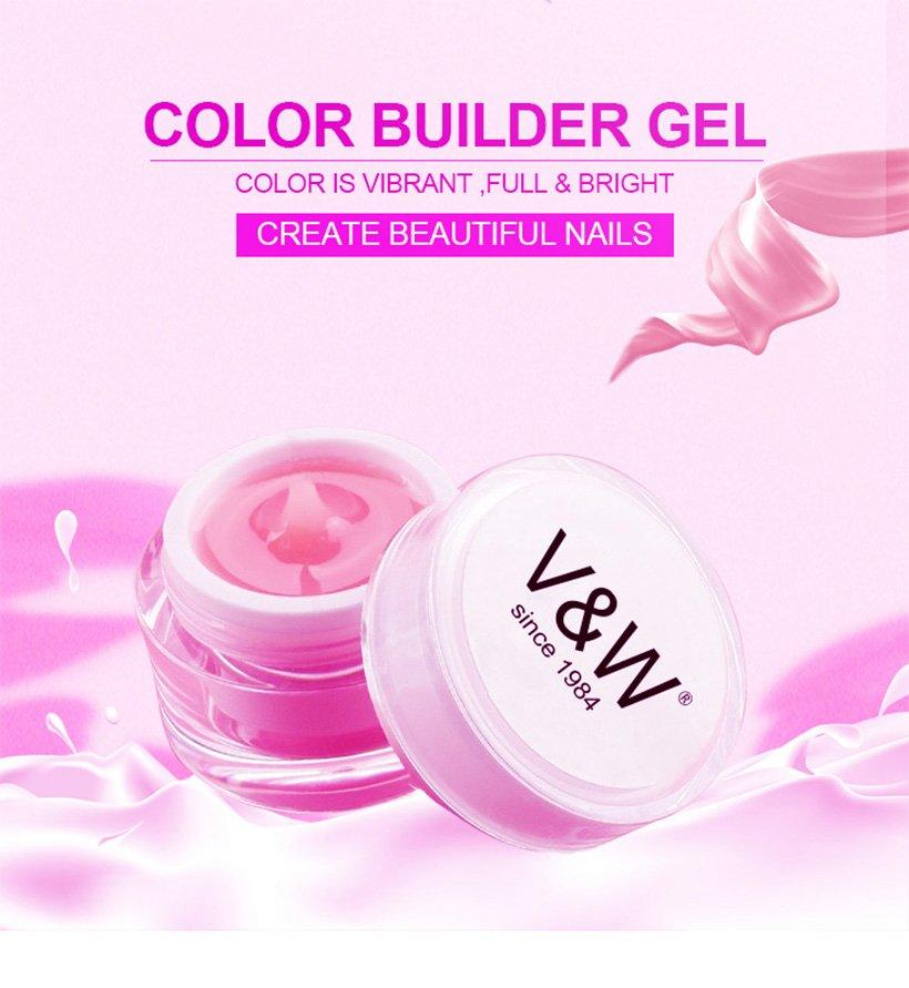 VW glitter Gel Polish Wholesale varnish for shopping