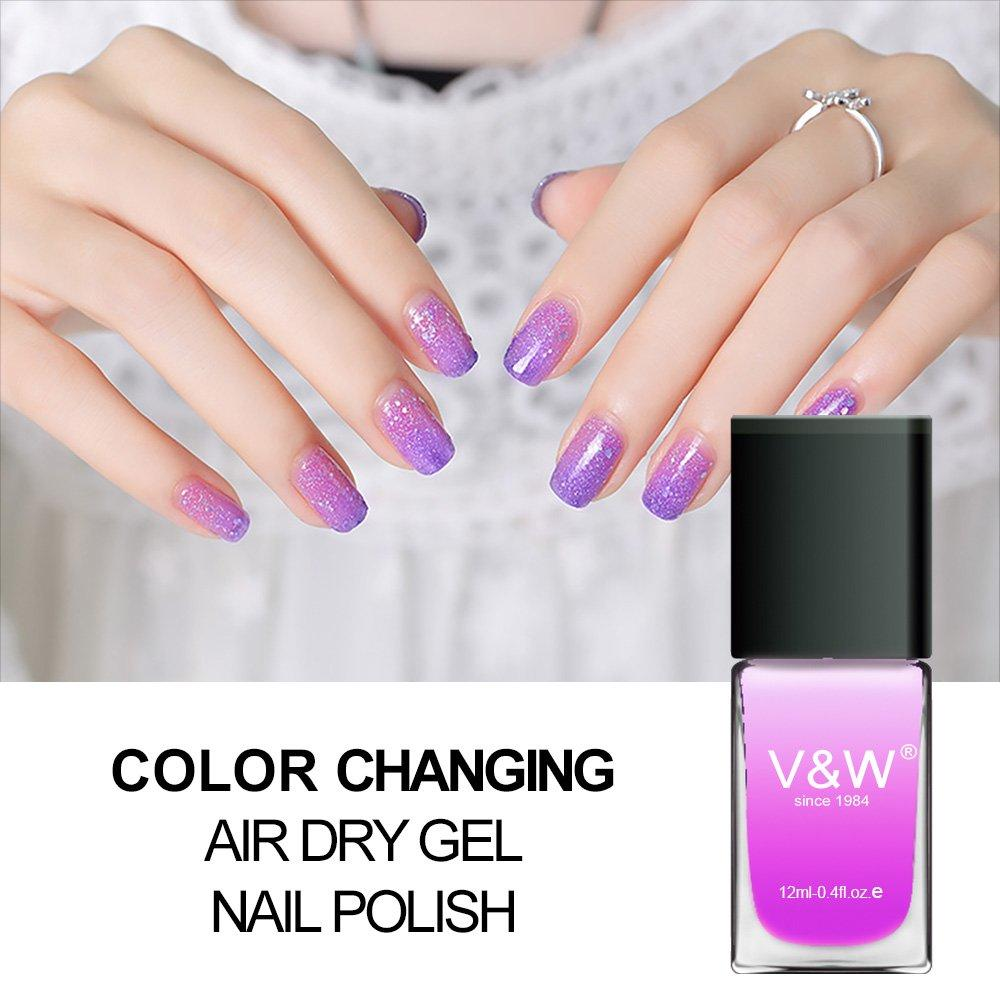 Color Changing Air Dry Gel Nail Polish