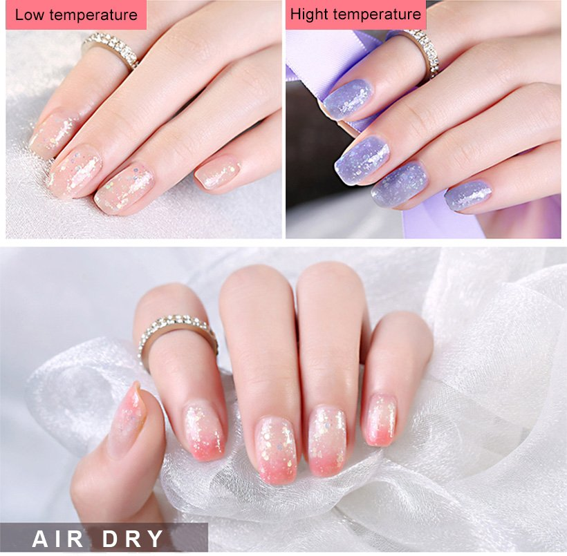 glitter gel nail polish without uv extensions varnish for daily life-6