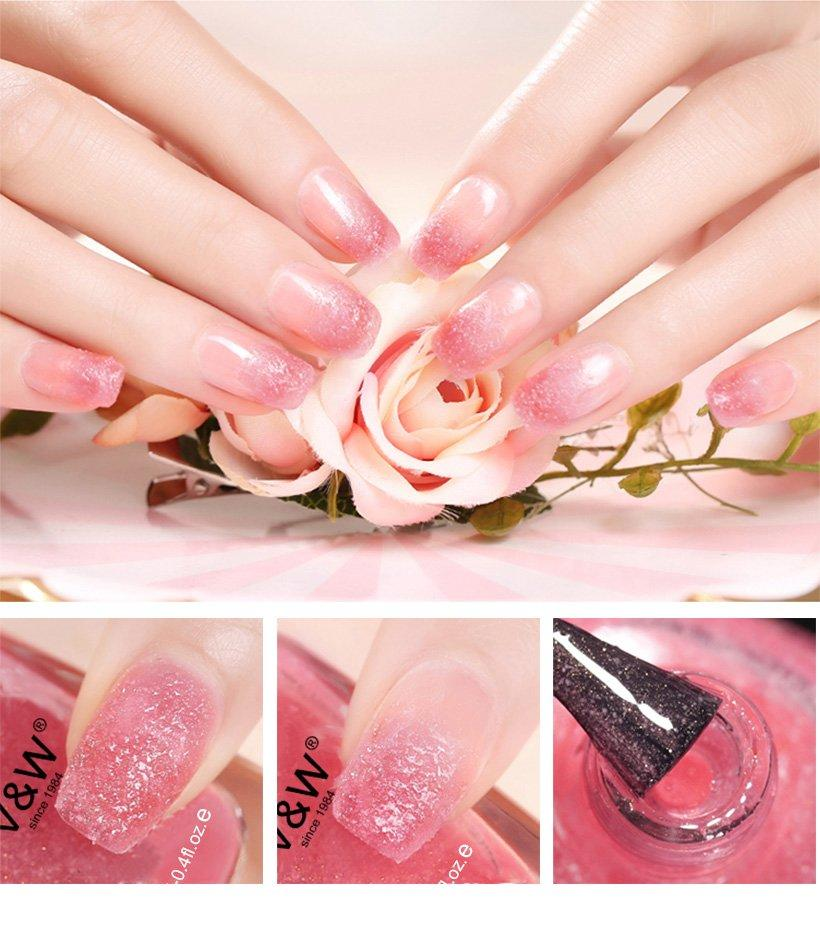 glitter gel nail polish without uv extensions varnish for daily life