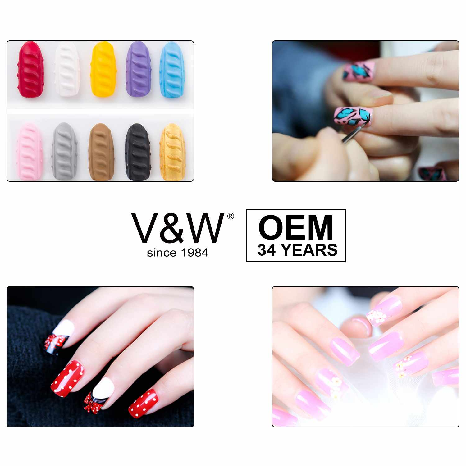 VW-uv gel nail set ,blue nail polish in bulk | VW