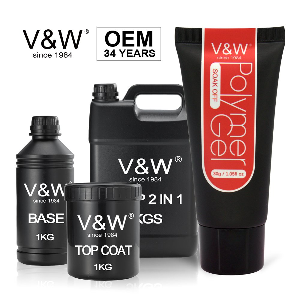 VW-Professional Uv Color Gel Nail Polish Factory Supplier-1