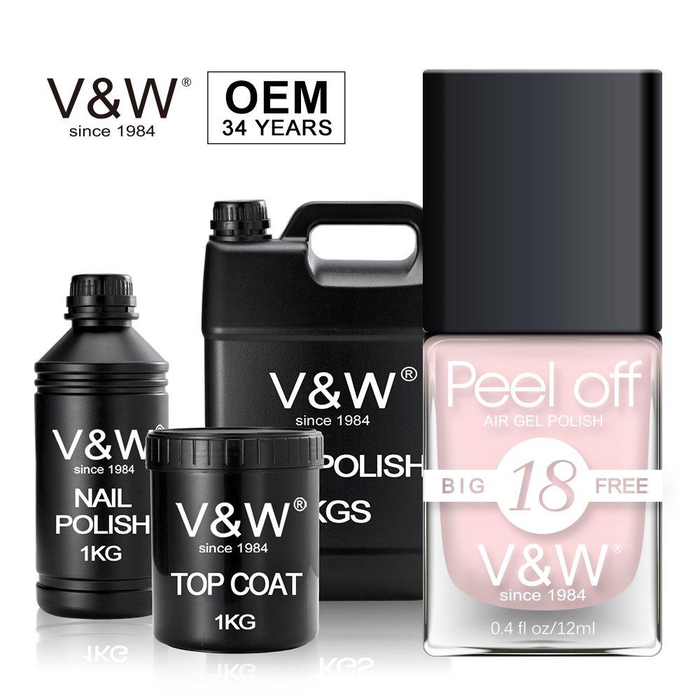 VW-all natural nail polish   Air Dry Gel Nail Polish   VW-1