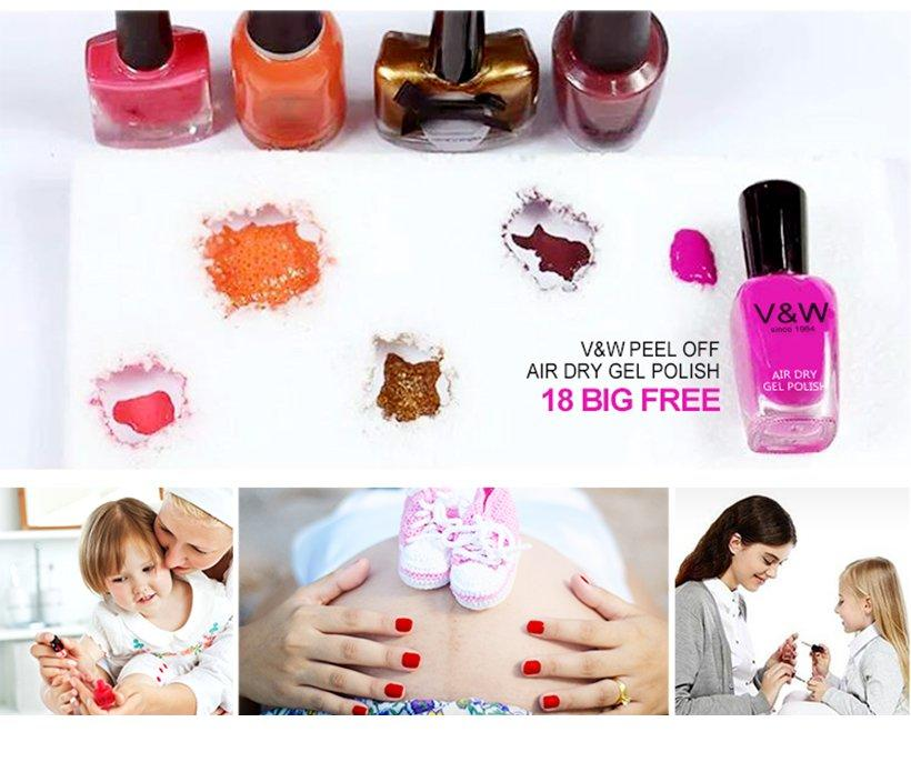 VW toxic sation nail polish wholesale for evening party