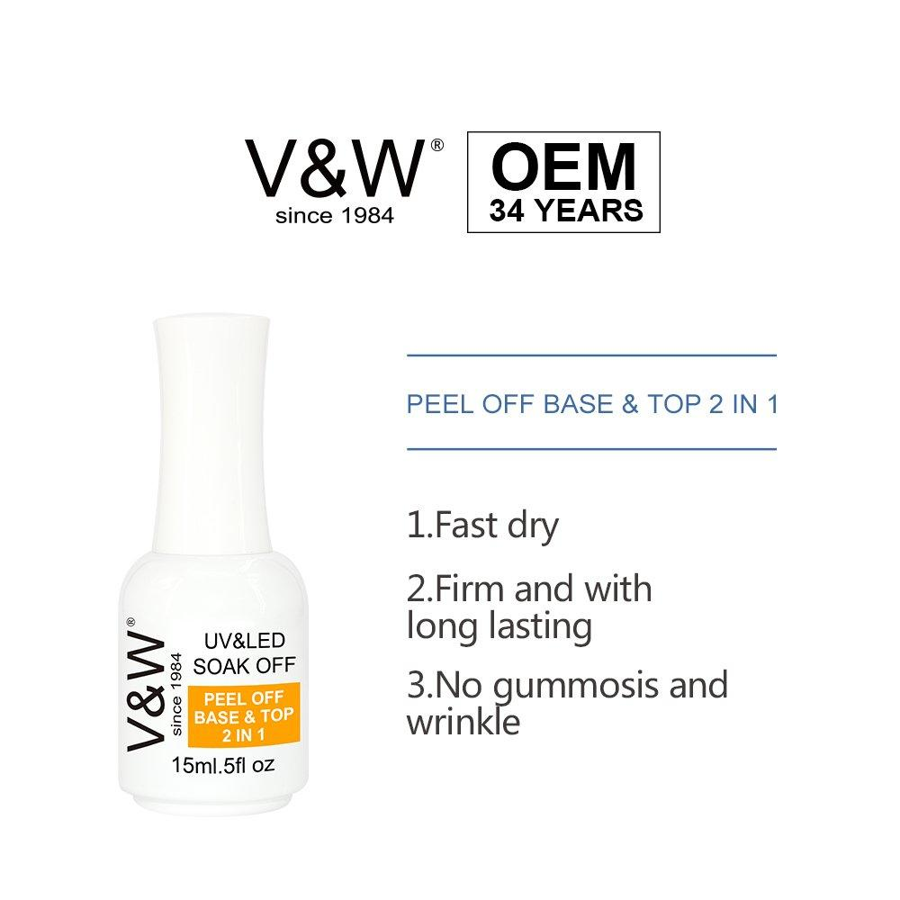 Peel Off Base Coat And Top Coat 2in1