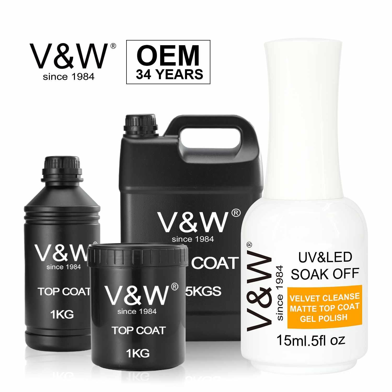 Velvet Cleanse Matte Top Coat Uv Led Gel Polish For Nail Art Designs