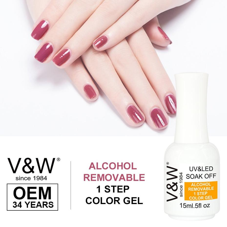 powder polish Alcohol Removable One Step Gel UV/LED Gel Nail Polish More Than 1000 Colors in Stock Guidelines