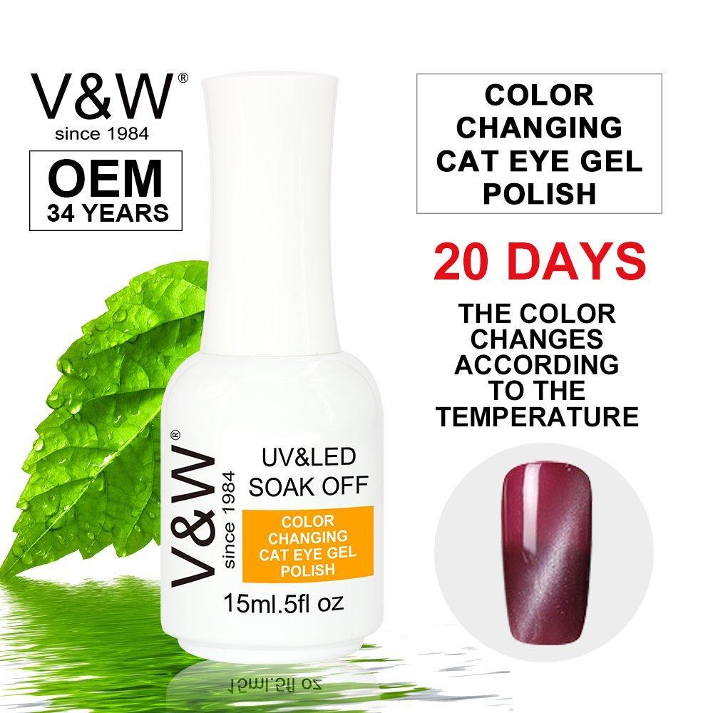 Color Changing Cat Eye Chameleon Soak Off UV LED Gel Nail Polish
