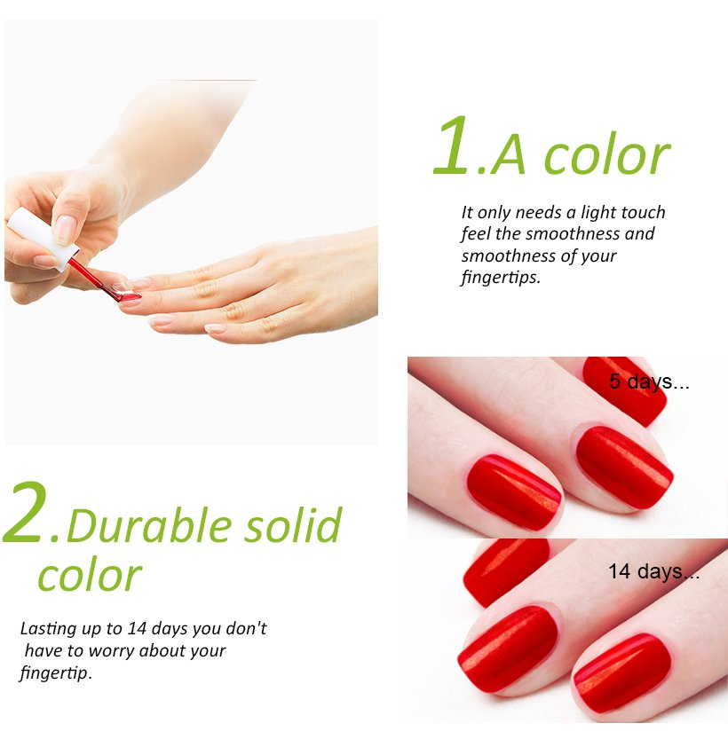 odorless nail polish offers natural for evening party-4