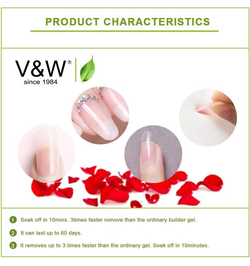 VW long lasting uv gel manicure manufacturer for evening party