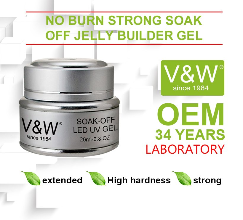 VW glow uv gel manicure varnish for shopping-2