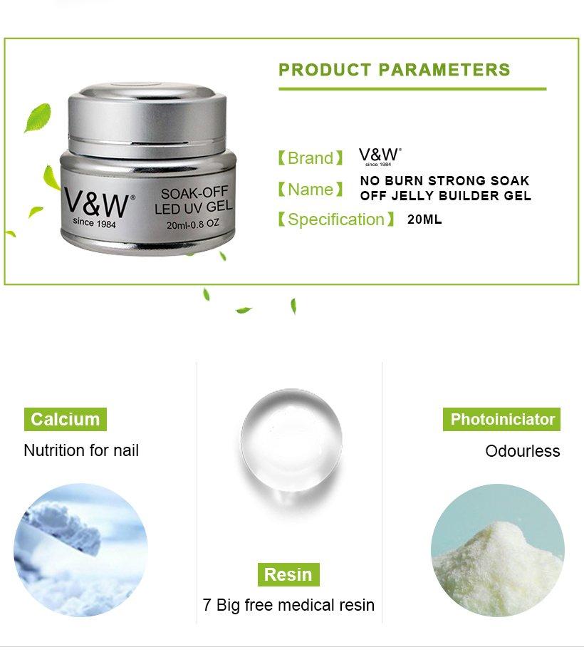 VW glow uv gel manicure varnish for shopping-3