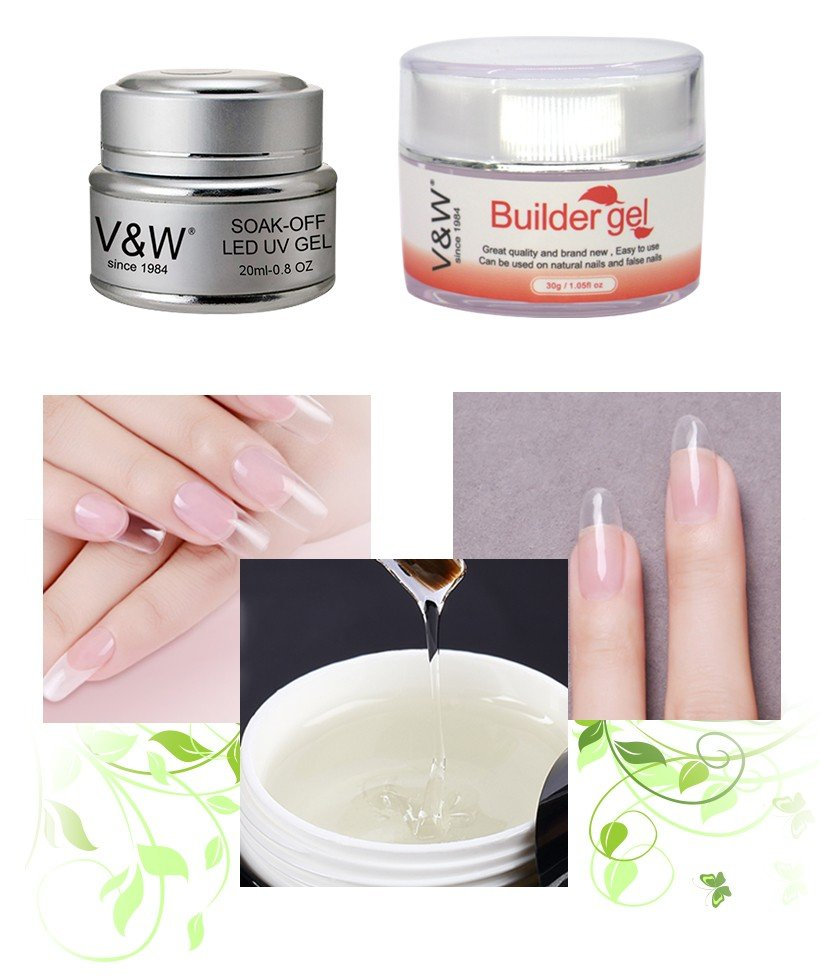 VW-No Burn Strong Soak Off Jelly Builder Gel | Uvled Gel Polish | Vw Gel Polish-5