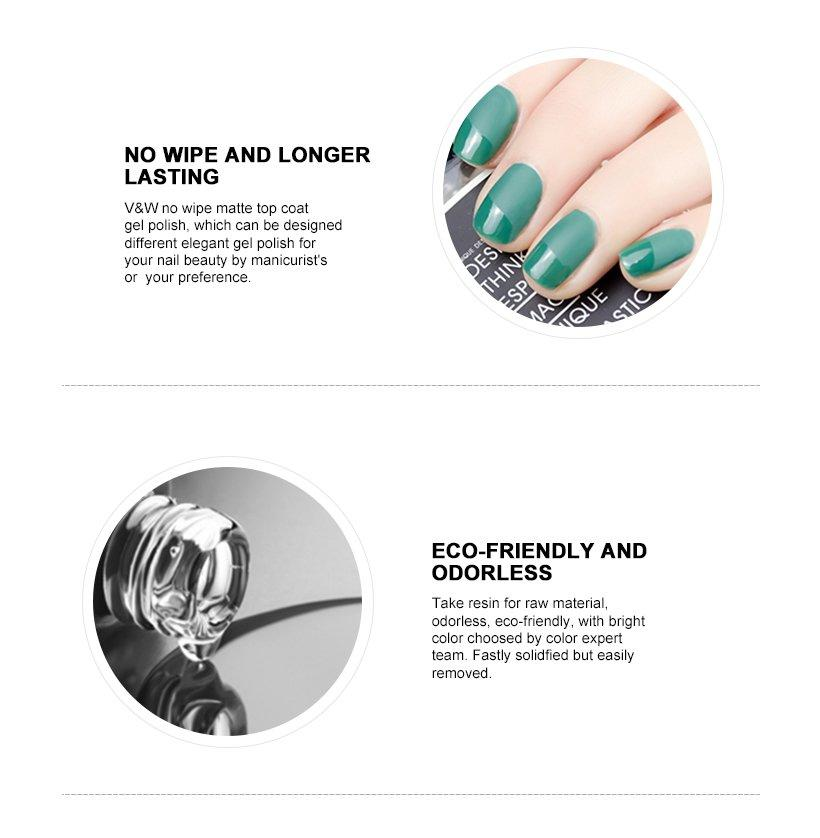 VW quick dry good cheap gel nail polish eco friendly for office