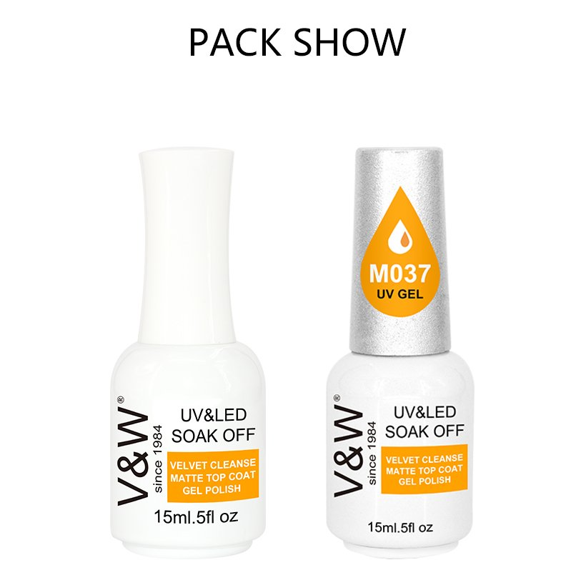 VW diamonds uv nail polish set for office-7