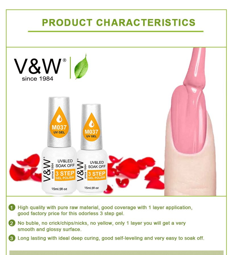 VW gel uv nail polish for office-5