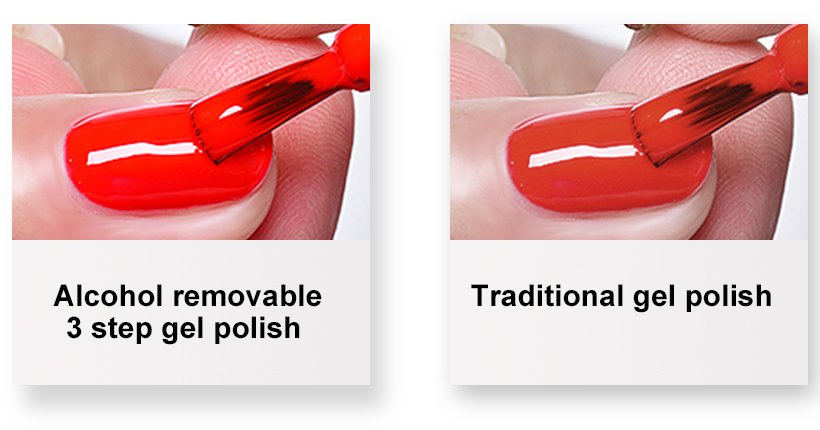 gel nail polish to use with uv lamp jelly for party VW-4