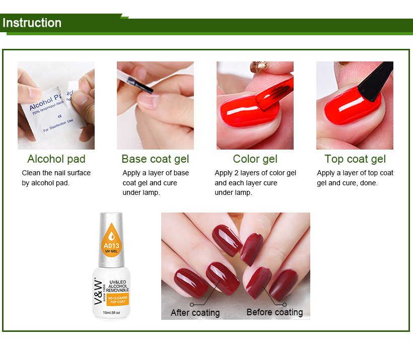 VW glow nail polish sold in bulk varnish for daily life-8