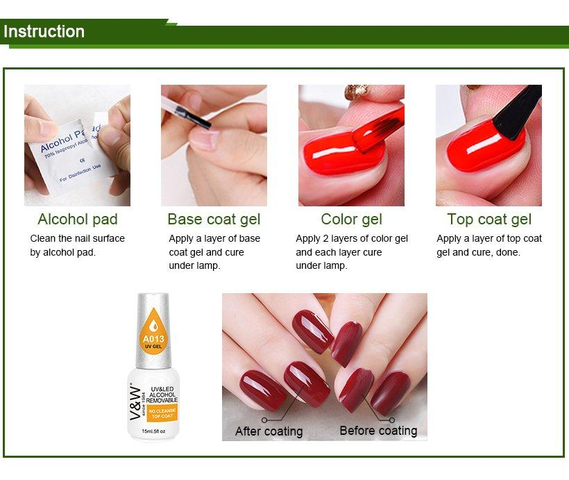 VW glow nail polish sold in bulk varnish for daily life