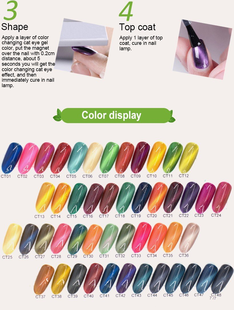VW odorless wholesale clear nail polish mood changing for daily life-6