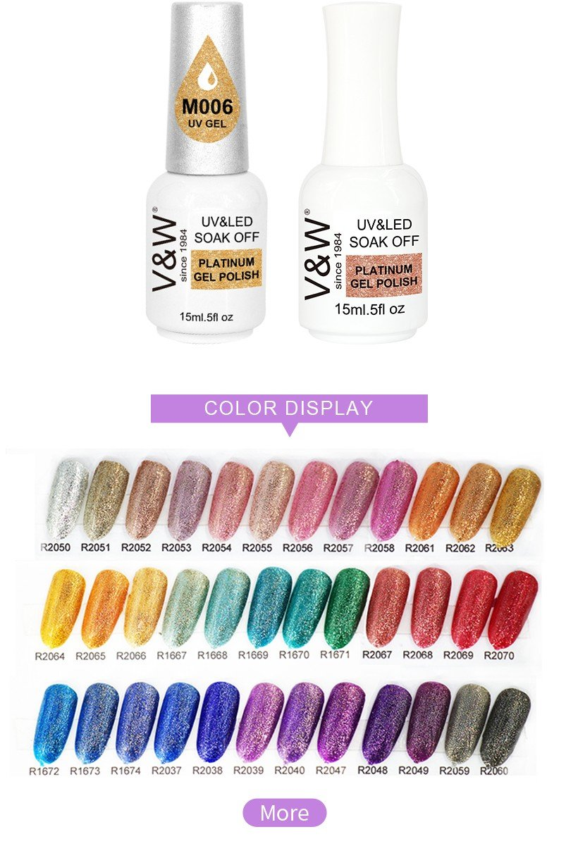 VW peel off uv nail polish for party-11