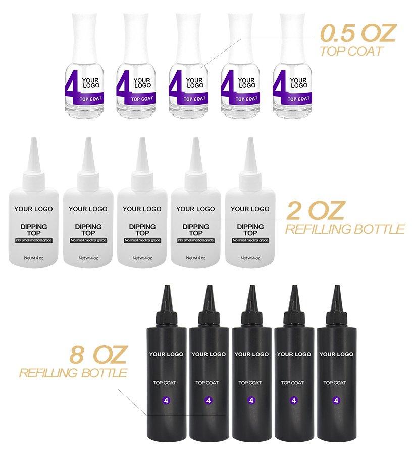 VW-Dipping Powder Top Coat | Nail Dip System | Dipping Acrylic Powder-2