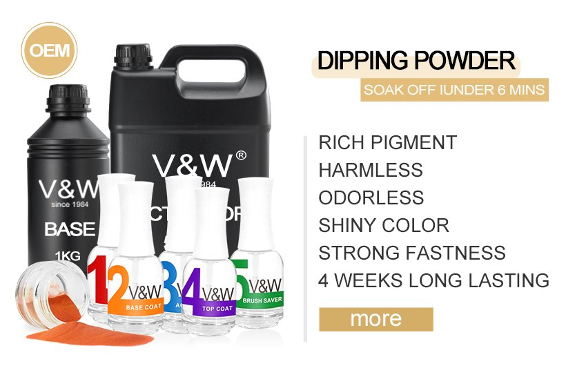 VW dip finger nail dipping easy remove for dinner-6